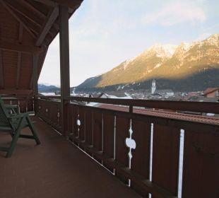 Ausblick Kramersuite Hotel Zugspitze