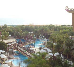 Blick von unserem Zimmer Hotel Royal Dragon