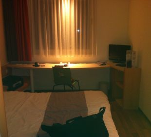 Blick ins Zimmer Hotel Ibis Koblenz City