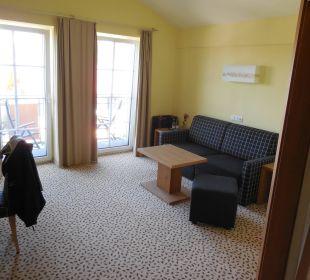 Rosensuite - Wohnzimmer Landhotel Stemp