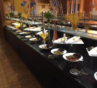 Ausschnitt vom Buffet TUI SENSIMAR Belek Resort & Spa