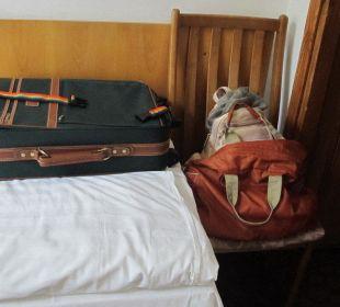 Wohin mit den Koffern? Hotel Zamek Karnity