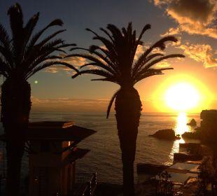 Sonnenuntergang bei Cliff Bay Hotel The Cliff Bay (PortoBay)