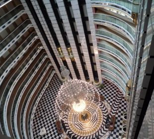 Lobby von oben Hotel Delphin Imperial