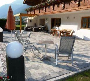 Unsere neue Terrasse - Urlaub PUR!  Landhaus Rudigier