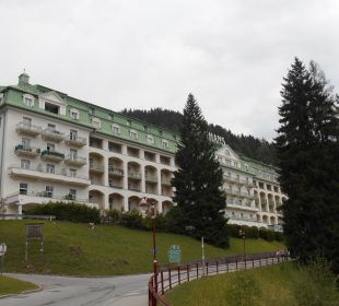 Vorderansicht Hotel Panhans