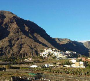 Blick von dem a la carte Restaurant La Pardela Hotel Gran Rey