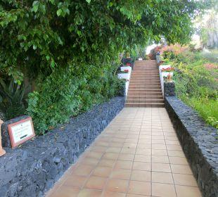 Fussweg Hotel La Palma Jardin