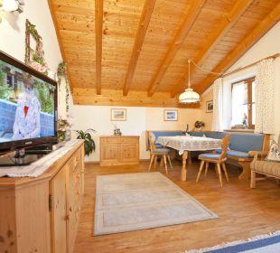 Wohnzimmer Ferienwohnung Wetterstein Ferienwohnung Alpenwelt