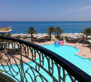 Вид из номера King Tut Aqua Park Beach Resort