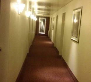 In der 3. Etage im Flur Best Western Hotel Hamburg International