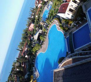 Vom Balkon Horus Paradise Luxury Resort Club