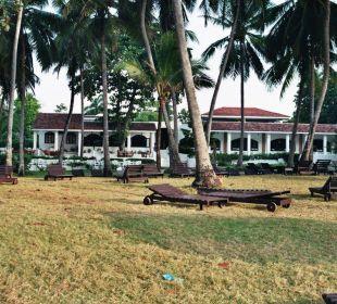 Restaurant vom Strand aus fotographiert Hotel Diani Sea Lodge