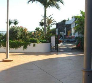 Blick zur Poolanlage Hotel Luz Del Mar