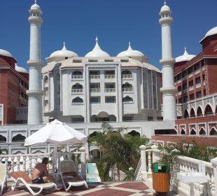 Sehr gelungene Bauweise Hotel Royal Dragon