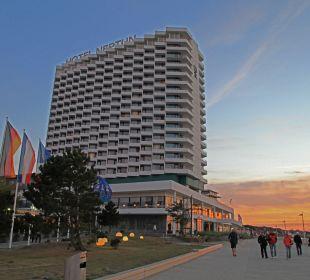 Hotel Neptun Sonnenuntergang Hotel Neptun