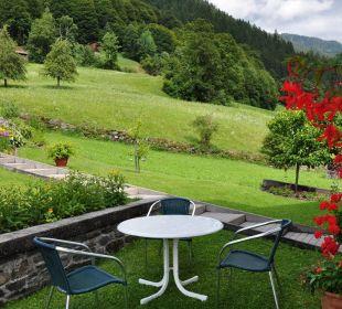 Erholung im Garten Ferienwohnung Winkler