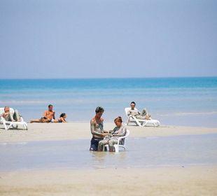 Private beach - Thalasso Grand Hotel Stella di Mare