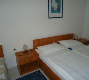 Gemütliches Bett mit guten Matratzen Villa Pavlinka