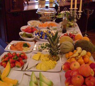 Frisches Obst am Frühstücksbuffet Hotel Fürstenberg