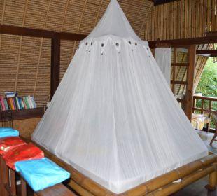 Lumbung Schlafbereich im Obergeschoss Ciliks Beach Garden
