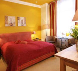 Das rote Zimmer  Hotel Residence Bremen