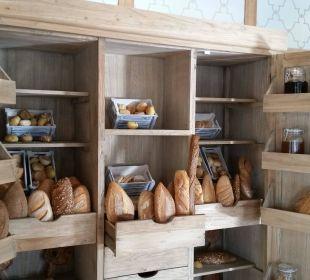 Frühstück Ouzo Restaurant Ikos Olivia