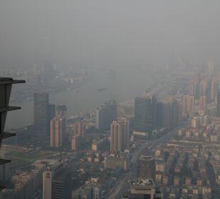 Blick auf Shanghai Hotel Grand Hyatt Shanghai