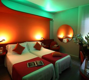 Cromoterapia Hotel Mediolanum