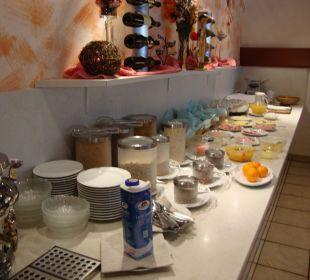 Frühstückbuffet  Hotel Menüwirt