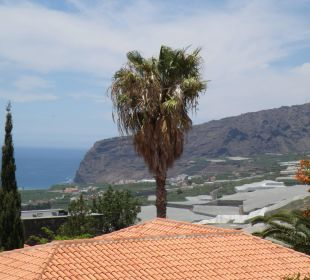 Ausblick vom Garten zum El Time Bungalows El Paradiso