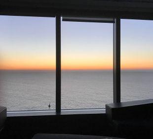 Sonnenaufgang inklusive W Barcelona Hotel