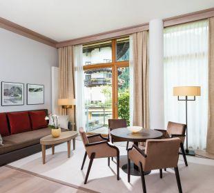 Familiensuite Wohnbereich Travel Charme Ifen Hotel Kleinwalsertal