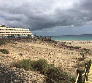 Ausblick von der Promenade zum Hotel IBEROSTAR Hotel Playa Gaviotas
