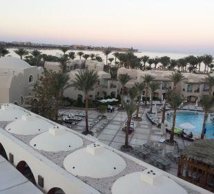 Ausblick Hotel Iberotel Makadi Beach