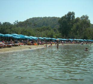 überfüllte Lagune Blue Lagoon Hotel Oludeniz