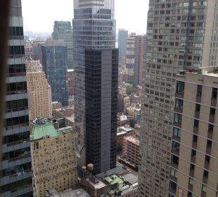 Zimmerausblick Crowne Plaza Hotel Times Square Manhattan