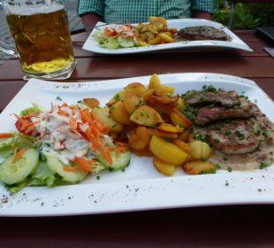 Super leckeres Essen vom Chef Hotel-Gasthof-Fellner