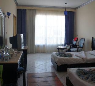 Our room King Tut Aqua Park Beach Resort