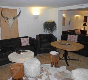 Einer derverschiedenen Aufenthaltsträume Hubertus Alpin Lodge & Spa