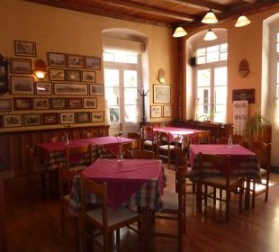 Frühstücksraum Hotel Omorfi Poli