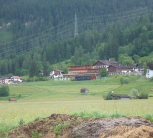 Die Hotelanlage aus einiger Entfernung Hotel Mohr Life Resort
