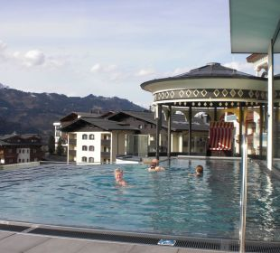 Roof-Top-Pool Alpina Family, Spa & Sporthotel