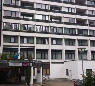 Von außen Mercure Hotel Garmisch Partenkirchen