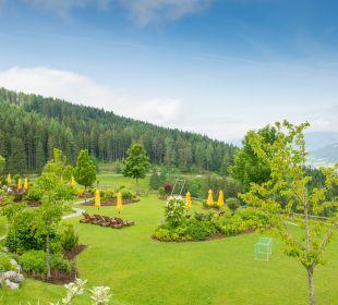 Gartenanlage Familotel Seitenalm