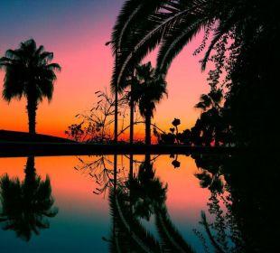 Sonnenuntergang Terrasse Hotel Kleopatra Celine