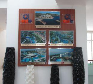 Lobby Sunis Hotel Evren Beach Resort & Spa