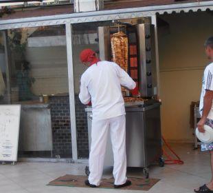 Kebab, večeře Hotel Krizantem