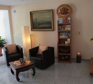 Eingangsbereich Ferienwohnungen & Pension Domicil am Stadtpark