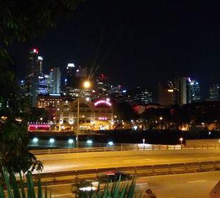 Blick vom Zimmer  Park Hotel Clarke Quay